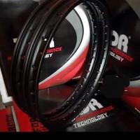 Velg TDR W Shape set 140/160 ring 17 black