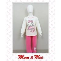 Piyama / Baju Tidur Anak Hello Kitty Putih Pink 8-12