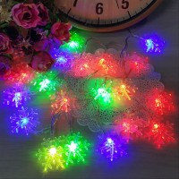 Lampu LED Salju Snow 6 Meter Power From USB Lampu Hias Natal Tumblr - Rainbow