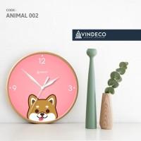 JAM DINDING UNIK / JAM DINDING LUCU / DOG /ANIMAL /JAM ANAK/ VINDECO 2