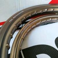 NEW Velg TDR Er shape ukuran 160 dan 160 ring 17 brown