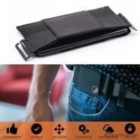 MD Minimalist Invisible Wallet Mini Pouch Waist Bag for Key Cards