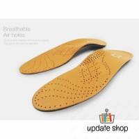 Insole Alas Sepatu Kulit Arch Correction Sweat Absorb