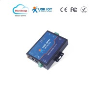 Industrial 4G LTE Modem and Serial RS232 and RS485 Data Transmit Unit