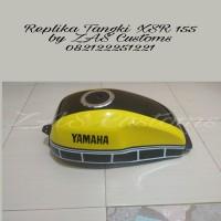 Tangki Model XSR Tutup Ninja for Vixion old new bisa request warna yl