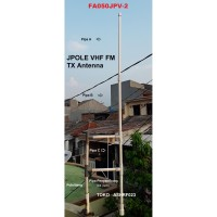 ANTENA FM VHF PEMANCAR TRANSMITTER TIPE JPOLE 50 WATT FA050JPV-2