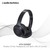 Special Price Audio-Technica ATH-S200BT Wireless Over-Ear Headphones