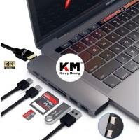 7 In 1 USB type C Hub To HDMI Adapter Macbook Pro USB 3.0