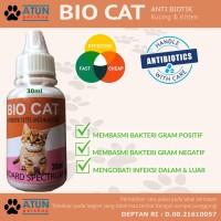 Obat Kucing Luka Infeks1 Pencernaan Pernafasan Anti-Biotik Bio Cat