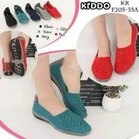 KIDDO F 205 35A Flat ORIGINAL Sepatu Rajut Anyaman Wanita