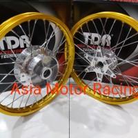 VELG SET MEREK TDR THAILAND UKURAN 140 x140 RING 17 TR