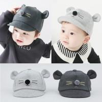 Topi Anak Baby Bayi Kids Telinga Tikus / Mouse Ear Baseball Hat Korea