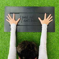 SVARGA Yoga Mat 5mm Knee Pad, Mini Mat Ekata Petite Matras Yoga Lutut - Black