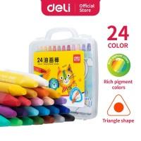 Deli 72072 school crayon/ krayon