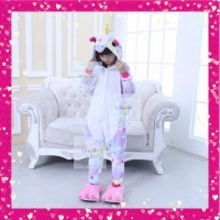 Kostum Anak Unicorn / Cosplay Piyama Kuda Unicorn Best Seller!