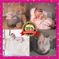 Baby Props / Karpet Bulu Foto Bayi / BackDrop Fluffy / Alas Bulu