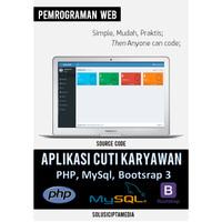 Aplikasi Cuti Karyawan PHP MySql Bootstrap