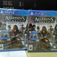Ps4 Assassins creed Syndicate new