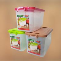 Tempat Beras 5Kg Asvita Wadah Beras Asvita Rice Box 5 Kg Plastik