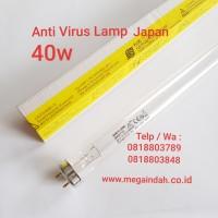 Lampu TL ANTI VIRUS UV-C 40W Germicidal Sankyo-Denki,Asli Japan
