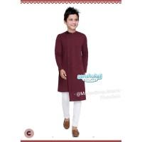 2-7th Setelan Baju Koko India Turki Pakistan Anak Marun Senshukei 49 C
