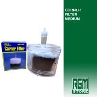 Multi Corner filter pojok medium aquarium aquascap murah