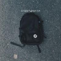 Converse Straight Edge Backpack Black Original