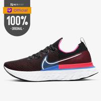 Sepatu Lari Nike React Infinity Run Flyknit Black Red Orbit Original C