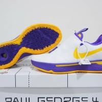 Sepatu Basket Murah Nike Pg4 low Lakers Home