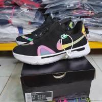 Sepatu Basket Murah Nike Pg4 Low Black Iridiscent