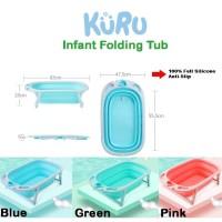 Bak Mandi Bayi Lipat Foldable Silicone | Infant Folding Bath Tub BOBO