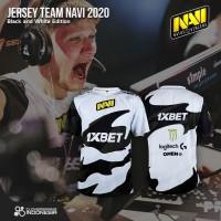 Jersey Team NAVI 2020 Black White Edition - Gaming Team Apparel
