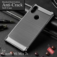 Anti Crack Soft Case Xiaomi Mi Mix 2s Softcase Silicon Silikon Casing