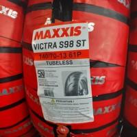 ban luar tubeless belakang Nmax N max 140 70 13 Victra maxxis