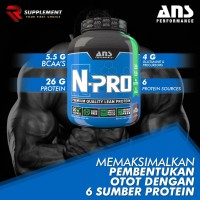 ANS N-PRO 4 LBS N PRO NPRO LB WHEY PROTEIN