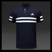 Polo shirt-Tshirt-Kaos Kerah ADIDAS LIST Keren Terlaris