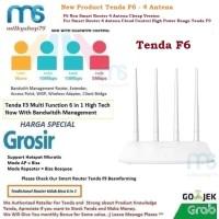 Tenda F6 Wireless Router 4 Antena