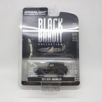 Greenlight Black Bandit 2012 Jeep Wrangler