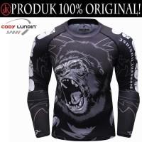 Baju OlahragaKetat MMA RashGuard Compression LongSleeve,CODYLUNDIN 225