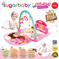 Makassar - Sugar Baby All-in-1 Piano Playmat Playgym - Ella The Chef