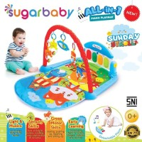 Makassar - Sugar Baby All-in-1 Piano Playmat Playgym