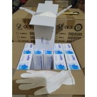 SARUNG TANGAN HANDSCOON Handscun SAFE GLOVE LATEX Disposibl - M - L
