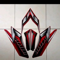 grosir stiker lis striping yamaha rx king 2008 warna merah