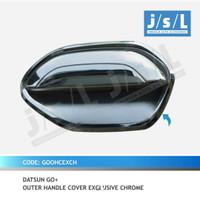 Outer handle cover mangkok pintu Datsun go chrome exclusive jsl