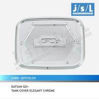 Tank cover Datsun go tutup tangki bensin Datsun go chrome elegant jsl