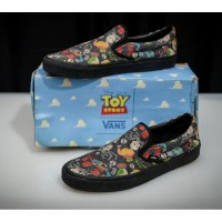 Sepatu Vans Slip On Toy Story Original - Size 44,5 Limited