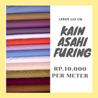 Kain Asahi Furing Berbagai Motif Warna Harga Per 25 CM