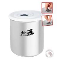 Zebra Airtight Stainless Jar 10x12 Cm (110253) / Container
