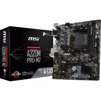 MSI A320M Pro M2 (AM4- AMD Promontory A320- DDR4- USB3.1- SATA3)HR005