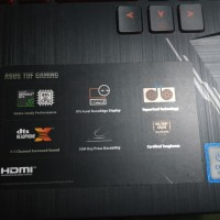 ASUS TUF Gaming FX505GD-I5501T Core i5 Gen8300H/8GB/1TB/GTX1050 4GB